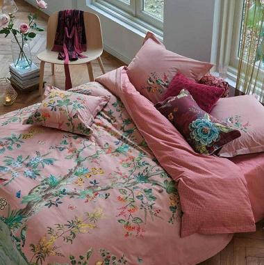 Parure de couette Wild & Tree Pink Pip Studio