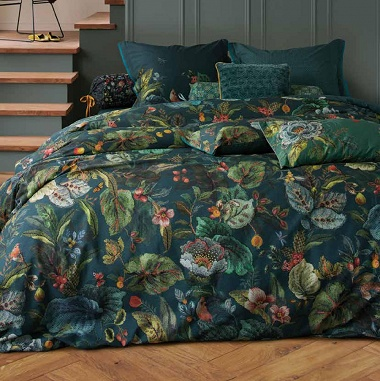 Parure de couette Winter Foliage Green Pip Studio