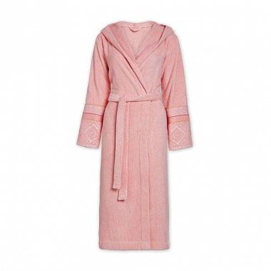 Peignoir capuche Soft Zellige Pink Pip Studio