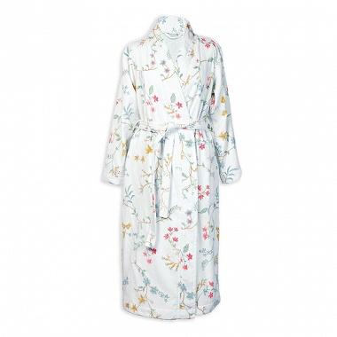 Peignoir Kimono Les Fleurs White Pip Studio