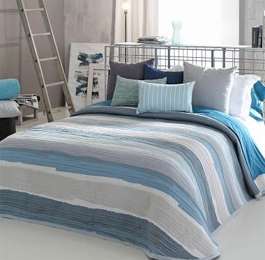 Couvre lit Marea Bleu 03 Reig Marti