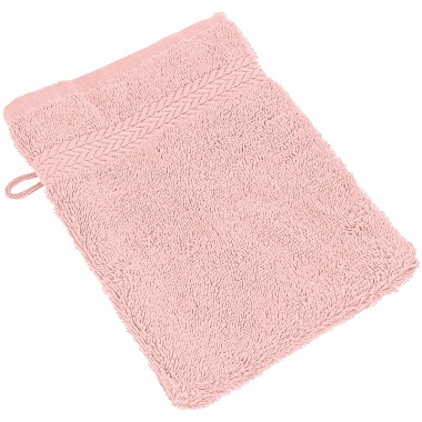 3 Gants de toilette Luxury rose Sensei