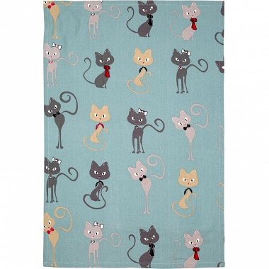 3Torchons Cats 3col. Sensei