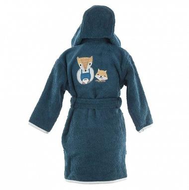 Peignoir capuche Baby Fox Sensei