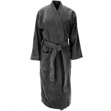 Peignoir kimono Luxury anthracite Sensei