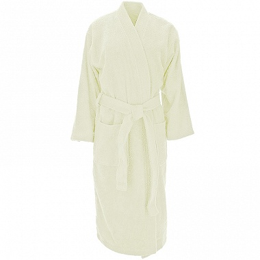 Peignoir kimono Luxury écru Sensei