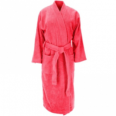 Peignoir kimono Luxury framboise Sensei