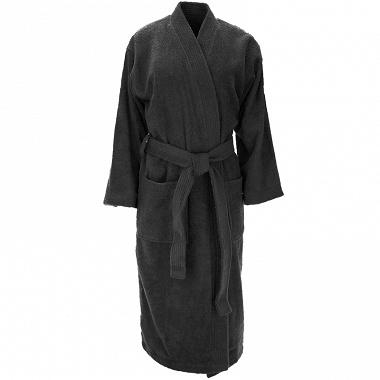 Peignoir kimono Luxury noir Sensei