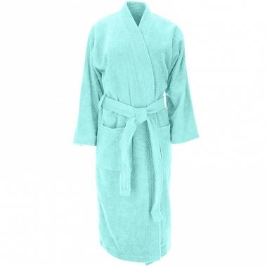 Peignoir kimono Luxury turquoise Sensei
