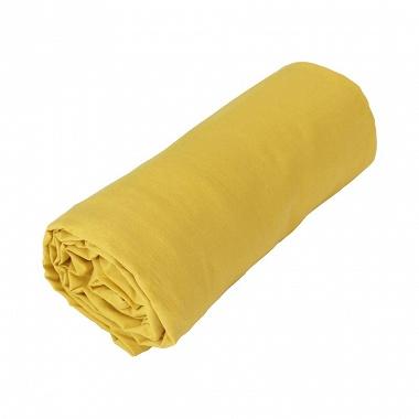 Drap housse coton cap ferret curry toison d'or