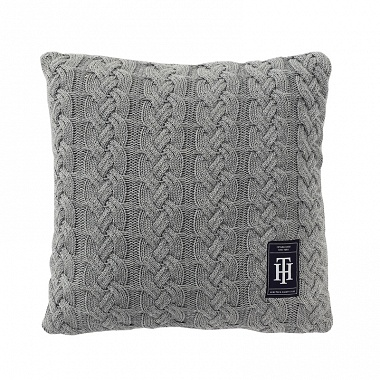 Coussin Bowling Grey Tommy Hilfiger