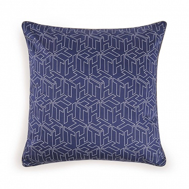 Coussin TH Cube Navy Tommy Hilfiger