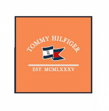 Coussin TH42Coral Tommy Hilfiger