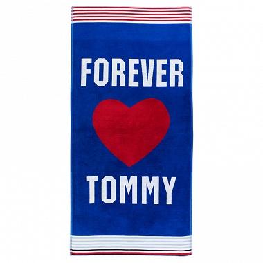 Drap de plage Forever Tommy Blue Tommy Hilfiger