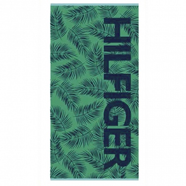 Drap de plage Key west Green Tommy Hilfiger