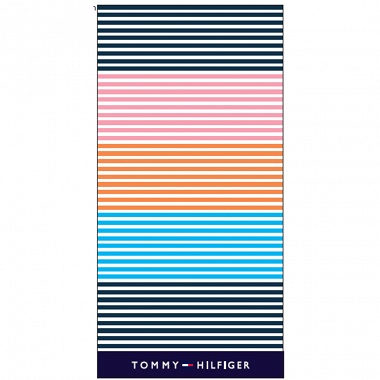 Drap de plage Sunshade multi­co­lore Tommy Hilfi­ger