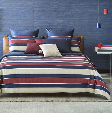 Housse de couette Heral­dic Navy Tommy Hilfi­ger