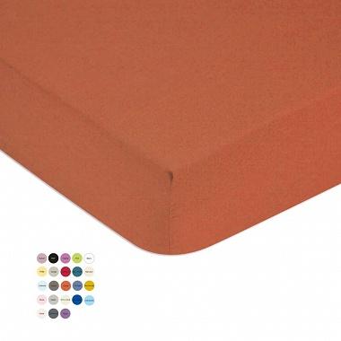 Drap housse coton 57fils/cm² 23col. Tradilinge