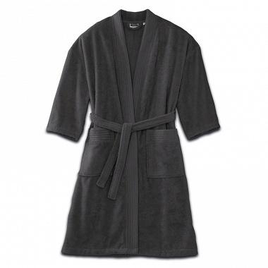 Peignoir kimono Anthracite Tradition des Vosges
