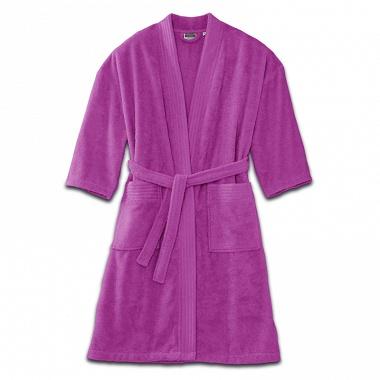 Peignoir kimono Fuchsia Tradition des Vosges
