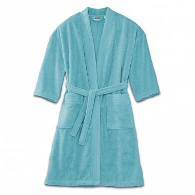 Peignoir kimono Turquoise Tradition des Vosges