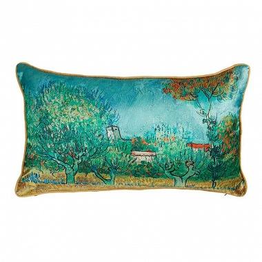 Coussin Campagne Bleu Van Gogh