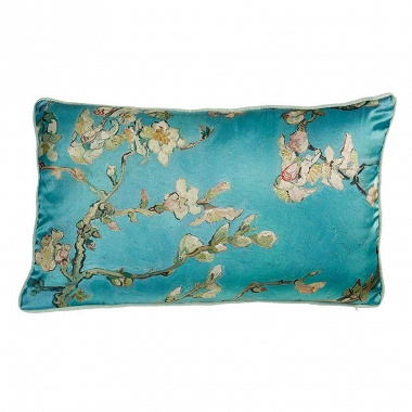 Coussin Fleuri Bleu Van Gogh