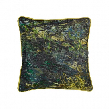 Coussin Pinceau vert Van Gogh