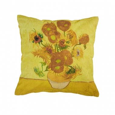 Coussin Tournesols jaunes Van Gogh