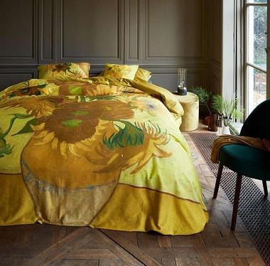 Parure de couette Sunflower Yellow Van Gogh