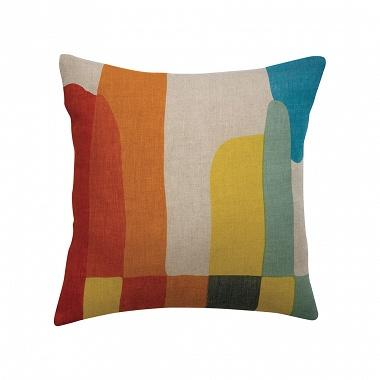 Coussin Janis Multicolore Vivaraise