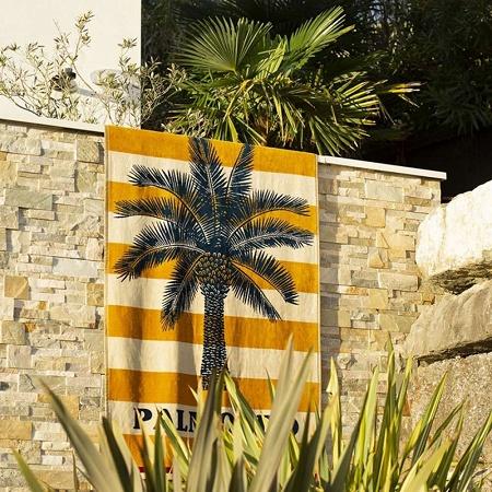 Drap de plage Caneta sable 100×180cm Jean Vier