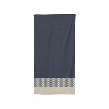 Serviette de toilette Beaumanoir Gris 50×100cm Jean Vier