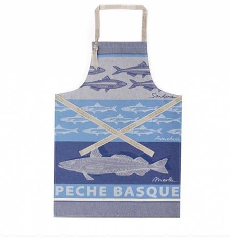 Tablier Pêche Basque 60×90cm 60×90cm Jean Vier